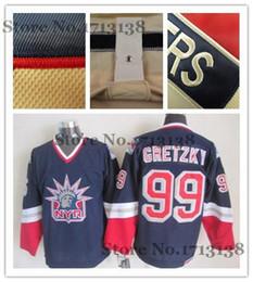 Wholesale Liberty Cotton - 2016 New, New York Rangers Jersey 99 Wayne Gretzky Jersey Blue White Wholesale retro New York Rangers lady liberty Jersey