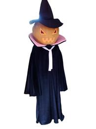 Wholesale Halloween Pumpkin Mascot - 2016 New Super Hot Halloween pumpkins Mascot Costume Fancy Dress EPE