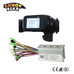 Wholesale Thumb Throttles - 24v 36v 48v Electric Bike Assistant LCD Display Thumb Throttle Type LCD Display S886 With Matched Controller