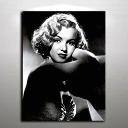 Wholesale Marilyn Monroe Canvas Art - Sexy Marilyn Monroe Picture Modern Oil Painting Printed on Canvas Mural Art for Home Living Hotel Cafe Wall Decor