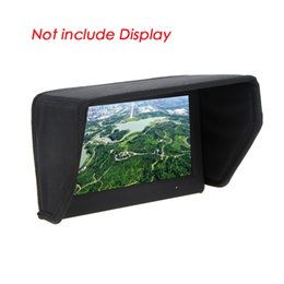 Wholesale Grind Video - High Quality 7 inch FPV LCD Monitor Display Sun Shade Sun Hood for DJI Phantom Video FPV Ground Station order<$18no track