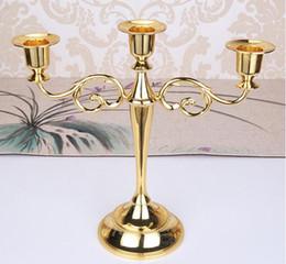 2019 becherhalter Kerzenhalter Kandelaber Herzstück für Hochzeit Kerzenständer 5-Arm / 3-Arm Kerzenständer Hochzeitsereignis Candelabra Candle Stick günstig becherhalter