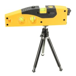 Wholesale Mini Laser Level Tripod - New Arrival High Quality Mini Line Laser Level Marker TD9B 160 Degrees Laser Range With Adjustable Tripod order<$18no track