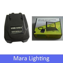 Wholesale Martin Dmx Controller - Wholesale-Fedex Freeshipping Martin Jockey USB1024 DMX Controller lightjockey Console Light Jockey Lighting Console Table for DJ Party