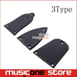 Wholesale Truss Wholesale - Wholesale- Black Plastic Truss Rod Cover For Acoustic Electric Bass Guitar