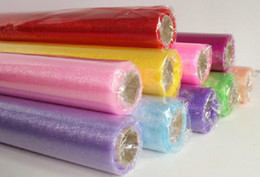 Wholesale Blue Tulle Rolls - Tulle Roll Spool Tutu Wedding Party Gift Wrap Fabric Craft Decorations
