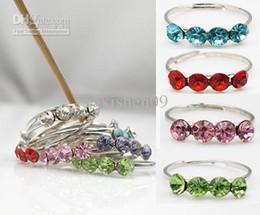Canada 12pcs (1pack) X Cristal Réglable Toe Anneau En Gros Lot Corps Bijoux Pack Offre