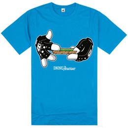 Wholesale D9 Reserve - D9 Reserve T shirts mens cheap hip hop classic basic camisetas camisa masculina short sleeve T-shirts