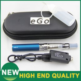 Wholesale Ego T Travel - CE4 Atomizer Vaporizer Pen eGO-T ce4 E Cig Mods ecigarette eGO-T Start kit 650mah Battery USB Chargeing With Travel Packing Wholesale