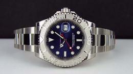 relógios de pulso de platina Desconto RELÓGIOS de Luxo NUNCA VESTIU Platinum Blue Dial 40mm 116622 - relógio do homem do peito do RELÓGIO