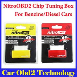 Wholesale Cars Ecu Programmer - DHL Free NitroOBD2 Car Chip Tuning obd2 nitro obd2 NitroOBD2 For Benzine and Diesel Cars