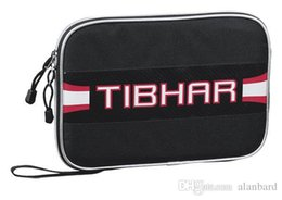 Wholesale HOT Low price Tibhar square Shape pingpong cover Table Tennis racket single layer bag