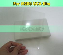 Oca film samsung online-250um para samsung galaxy Mega 6.3 i9200 oca film para Mitsubishi OCA óptico transparente adhesivo envío gratis