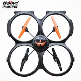 Wholesale Aircraft Skin - Skin U818A super remote control aircraft helicopter children toy plane model of four axis aircraft aerial