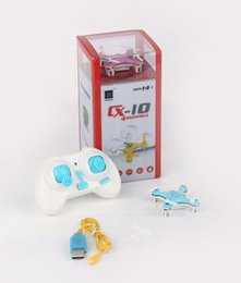 Wholesale Quadcopter Blue - 2.4G Remote Control Toys 4CH 6Axis RC Quadcopter electronic toys rc helicoptersElectronic Cheerson CX-10