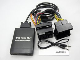 Wholesale Quadlock Adapter - Yatour Car Digital CD Music Changer USB MP3 AUX adapter For Ford (Europe 2003-2010) quadlock 6000CD 6006CD 5000C yt-m06 Bluetooth interface
