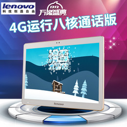 Wholesale 3g Built Internet Tablets - Lenovo 10.1 Inch Dual Card Call Tablet PC Eight Core Memory 4GB Hard Drive 64GB Bluetooth WIFI Unlimited Internet access
