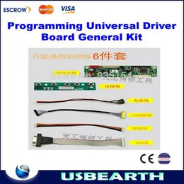 Wholesale Laptop Lcd Screens Universal - Programming universal driver board general kit for 12-42'' LCD TV and Laptop screen