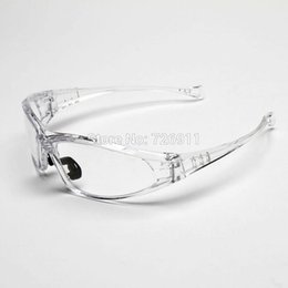 Wholesale Lens Dust Protection - 2015 New Hot Selling sports Cycling Glasses Clear frame Eyeglasses windproof skiing goggles with clear Lens Dust Protection 002 A5