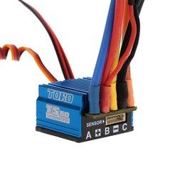 Wholesale 6v Esc - SkyRC TS50 50A LiPo Battery 2S Sensored Sensorless Brushless ESC with 6V 2A BEC for 1 10 RC Buggy Touring Car Parts