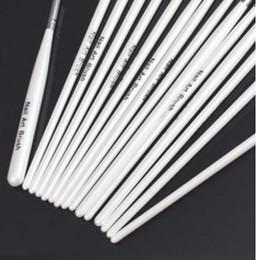 Natürliche designnägel online-Design malerei stift professinal nail art pinsel set für natürliche / falsche und 3d schönheit 1 satz / 15 stücke