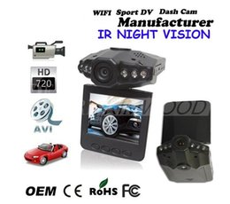 Wholesale Night Vision Car Camera System - Hot Sales 2.5'' Car DVR Recorder Camera System Black Box H198 Night Version Video Recorder Dash Camera 6 IR LED