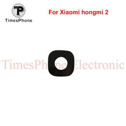 Wholesale 3m Brand Tape - Wholesale-3pcs For Xiaomi Redmi 2 Camera Lens Brand New Rear Camera Glass Cover with 3M Glue Tape for Hongmi 2 Two