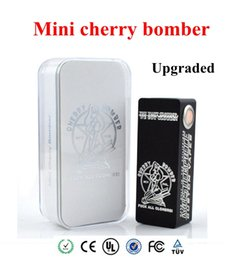 Rda doge atomizer online-2015 Aggiornato Mini Cherry Bomber Mechanical Mod fit Single 18650 Batteria 510 RDA Atomizzatore Mod Vapor per subtank mini dark horse doge