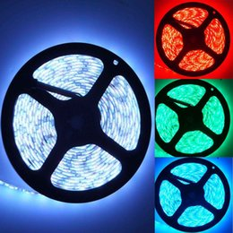 Wholesale 12v Lighting China - 2015 Real Direct Selling 10mm Ccc 5mm Uned Ip65(waterproof) China 5m 5050 Smd Rgb Flexible Strip Light Led Waterproof 12v 300 Leds Lamp