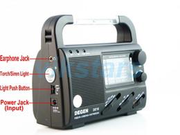 Wholesale Solar Mw - Wholesale-16 FM FML MW SW Crank Dynamo Solar Emergency Radio World Receiver Hot sale Free shipping