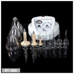 Wholesale Vacuum Lift - 2017 Newest Vacuum Massage Therapy Enlargement Pump Lifting Breast Enhancer Massager Bust Cup Body Shaping Beauty Machine