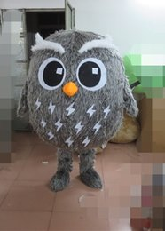 Wholesale Owl Mascot Cartoon - anger Owl Mascot costume cartoon made custom fancy dress free shipping