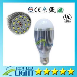 Wholesale E14 Led Bulb 14w - DHL SMD5730 14W 1000LM 110-240V Led Globe Bulb 180Angle E27 GU10 E14 B22 110-240V Led light Lamp Downlight Bubble bulbs Led Lighting 30