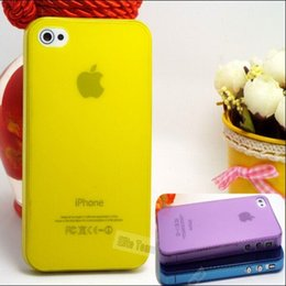Wholesale Heat Dissipation For Iphone 4s - Slim Fully Transparent Soft Back Cases Fast Heat Dissipation For Apple iPhone 4S Case Cover For iPhone 4 iPhone4 4S Phone Shell