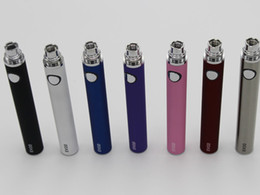 Wholesale Ego Twist Ce6 - Hot selling 650 900 1100mah EVOD Battery Huge capacity evod twist battery for ego ce4 ce5 ce6 iclear 30S 30B