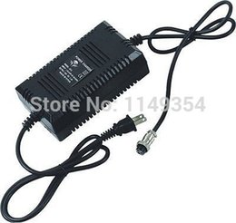 Wholesale Amps Electric - Wholesale-24V 1.8 Amp Battery Charger Power Adapter for EV Electric Bikes Scooter Pedicab free shipping