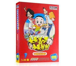 Wholesale Slips Movies - Chinese Movies DVD English version Mix Order Cartoon DVD Come with Slip Cover Brand New Free shipping