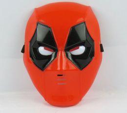 2019 mädchen film cartoon Deadpool Holiday Party Film X-Männer LED-Maske Kinder EMS Halloween Boy Mädchen Cartoon Superhero Deadpool LED Lumineszenz-Masken B001 günstig mädchen film cartoon