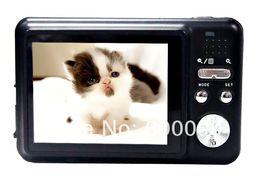 "Wholesale Tft 12mp - Hot-sale 12MP Max, 5MP CMOS Sensor Digital Camera with 2.7"" TFT Screen 4x Digital Zoom &Built-in LI-ion Battery free shipping"