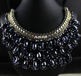 Wholesale Vivi Fashion - Vivi Magazine Retro False Collar Necklace Fashion Short Necklace For Women Statement Wedding Jewelry Wholesale