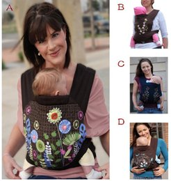 Wholesale baby hip carriers - Wholesale -Minizone 4styles MEI TAI Meitai 3 in 1 Baby Carrier Front Back or Hip Carry Cotton Baby Carrier Free shipping