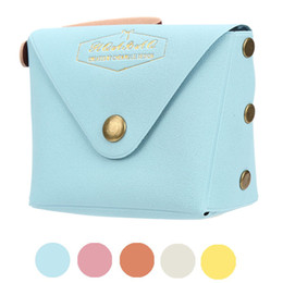 Wholesale mini bags for changes - Wholesale- Student Macaron Bow Serie Fashion Change Purse Children's bags for girls women mini wallet for coins Small purses 2017 hot