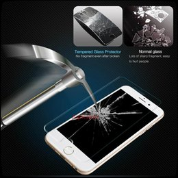 Wholesale Screen Protectors Iphone Retail Boxed - 1PCS Free Ship For Iphone 6S plus Iphone 6 plus 5 Tempered Glass Screen Protector Film Galaxy S6 Edge 0.26mm Treated Glass for S5 Retail box