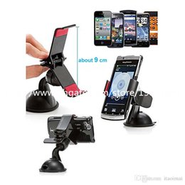 Wholesale S4 Cradle - Universal Car Holder Stand Portable Windshield Cradle Phone Clip Mount Desktop Holder for Iphone 4 5 6 6plus Samsung S3 S4 S5 Note