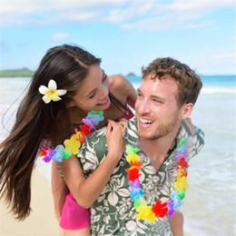 phantasie armbänder Rabatt Kranz Halskette ersten Ring Armband Farbe Kranz Hawaiian Style Produkte Rave Party Schmuck bunte Kostümparty neue LDH 35
