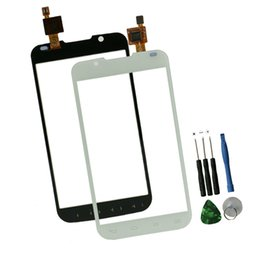 Wholesale Lg L7 Wholesale - Wholesale-White P715 Touch Screen For LG Optimus L7 II P715 P716 Touch Screen Digitizer With Front Glass Replacement Come With Free Tools
