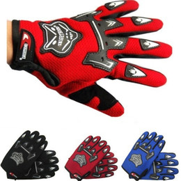 Wholesale Summers Motorcycle Gloves - Wholesale-Adult Guantes Motorcycle Gloves Motorbike Motocross MX ATV Quad Dirt Trail Pit Bike BMX DH Off Road Downhill Summer Riding Glove
