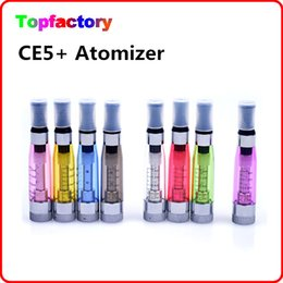 Wholesale Ego Atomizer Ce4 Changeable - eGO CE4+ CE4 plus CE5+ CE5 plus Replaceable Atomizer Clearomizer Changeable Core available for E-Cigarette Hot