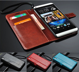 Wholesale Book Holder Phone Case - Luxury Book Stand Design PU Leather Case for HTC Desire 816 800 D816W Phone Back Cover With 3 Card Holders+ 1 Bill Side
