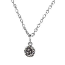 Wholesale Egg Nest Necklace - 100pcs lot Bird Nest With Eggs Charm Zinc Alloy Antique Silver Plated Charm Link Chain Necklace (A121518)